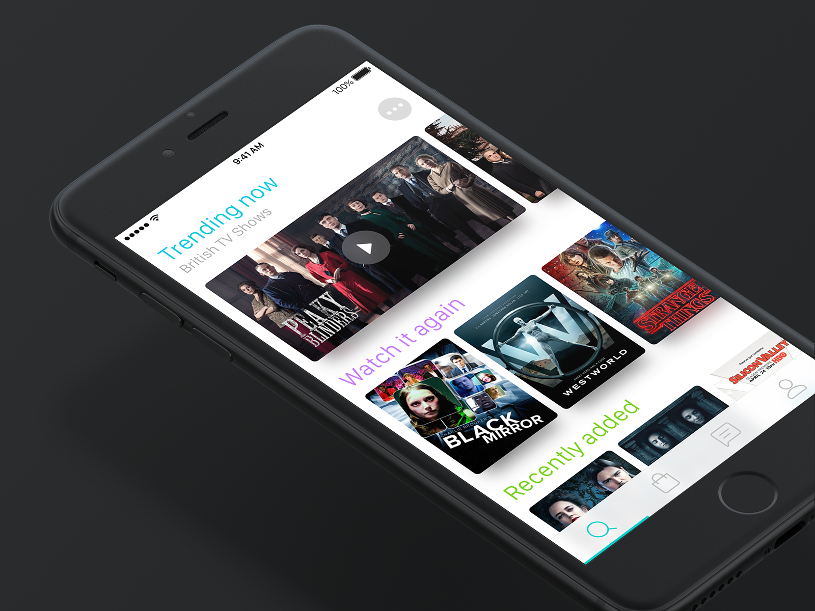 Passcode Screen Animation for Streaming-TV App